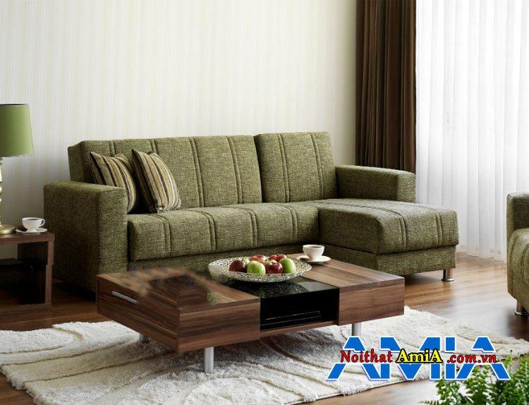 Những bộ ghế sofa màu xanh rêu trẻ trung mang lại may mắn cho người mệnh Mộc