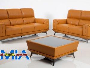 Hình ảnh bàn ghế sofa da nhập khẩu Hàn Quốc đẹp AmiA SF1992244