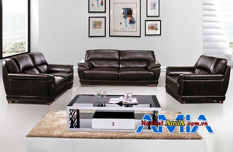 sofa da văn phòng sang trọng tựa thư giãn AmiA SF1992217