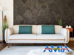Hình ảnh cách chọn mua ghế sofa bọc nỉ màu trắng đẹp