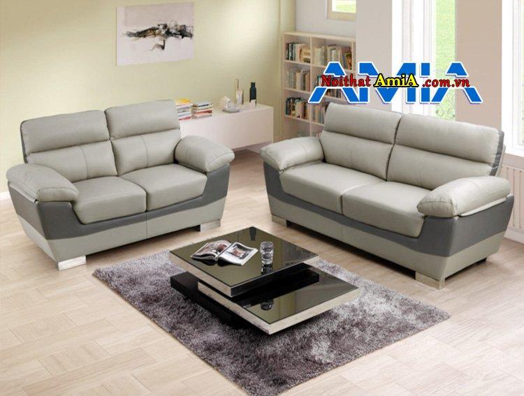 Hình ảnh Sofa bộ da Hàn Quốc nhập khẩu cao cấp AmiA SF1992241