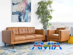 ảnh ghế sofa bộ da phòng khách đẹp AmiA SF1992157