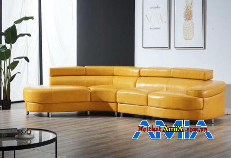 Hình ảnh Sofa da nhập khẩu Hàn Quốc AmiA SF1992237 cho biệt thự