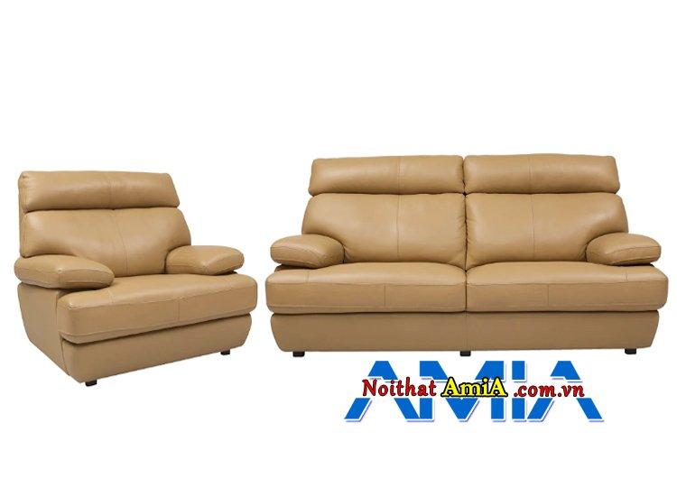 Hình ảnh sofa da nhập khẩu Nhật Bản hiện đại