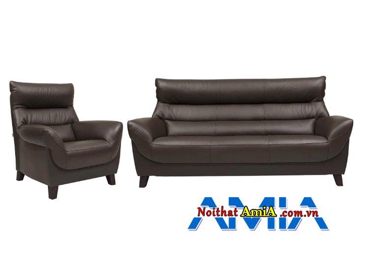 Hình ảnh sofa da nhập khẩu Nhật Bản sang trọng