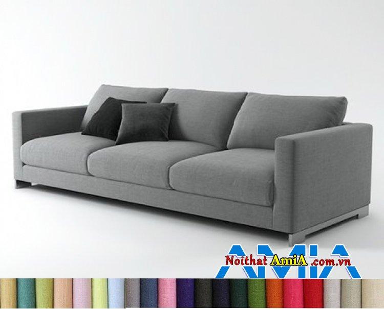 Bộ ghế sofa nỉ nhập khẩu Hàn Quốc đẹp