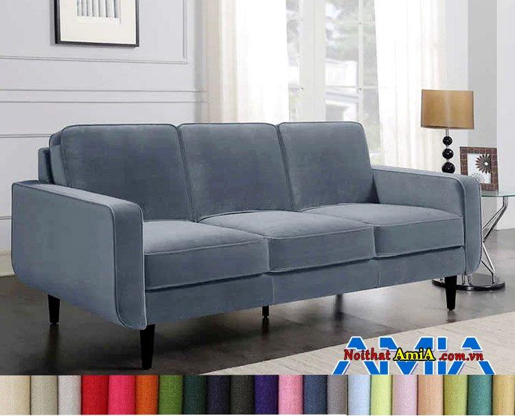 Mẫu  sofa nỉ nhập khẩu Hàn Quốc đơn giản