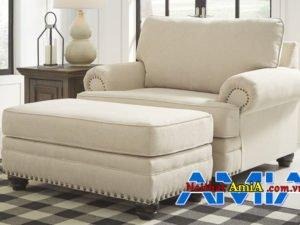 Sofa văng nhỏ gọn dạng tân cổ điển AmiA SFN1903202014