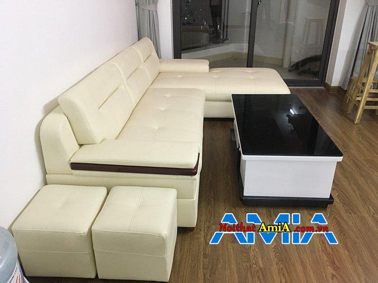 Sofa da đẹp 2020
