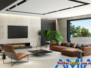 Đặc điểm mẫu sofa chữ l cho nhà biệt thự