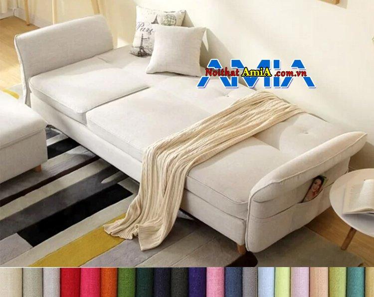 Mẫu ghế sofa giường cho phòng khách nhỏ ọn đẹp mely