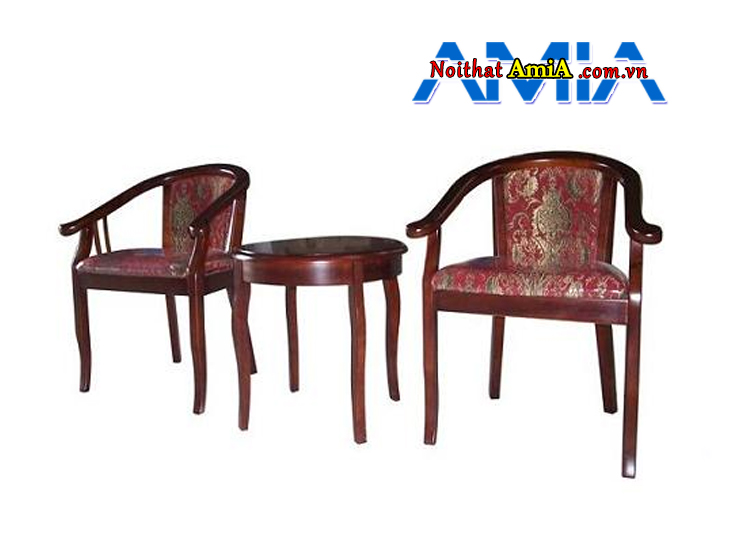 hình ảnh bàn trà gỗ cho khách sạn