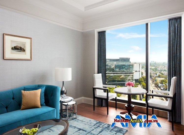 hình ảnh bàn trà sofa khách sạn