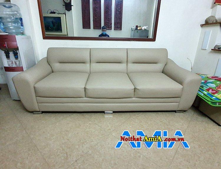 sofa da giá rẻ 2m1