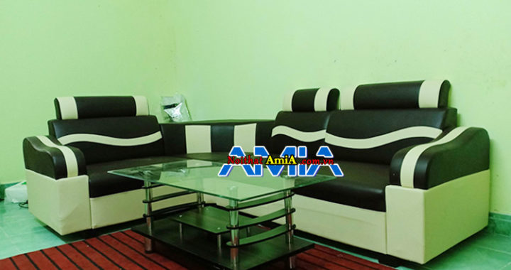 Hình ảnh bộ bàn ghế sofa văn phòng giá rẻ 2 triệu đẹp
