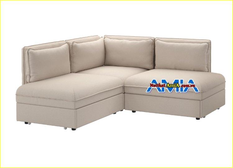 hình ảnh ghế sofa góc nhỏ mini tân cổ điển
