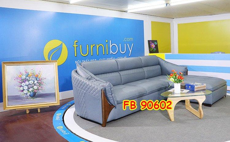 Hình ảnh ghế sofa nhỏ chữ L đẹp FB90602
