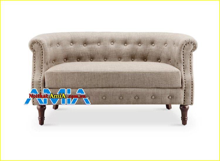 Hình ảnh ghế sofa nhỏ mini tân cổ điển Hà Nội