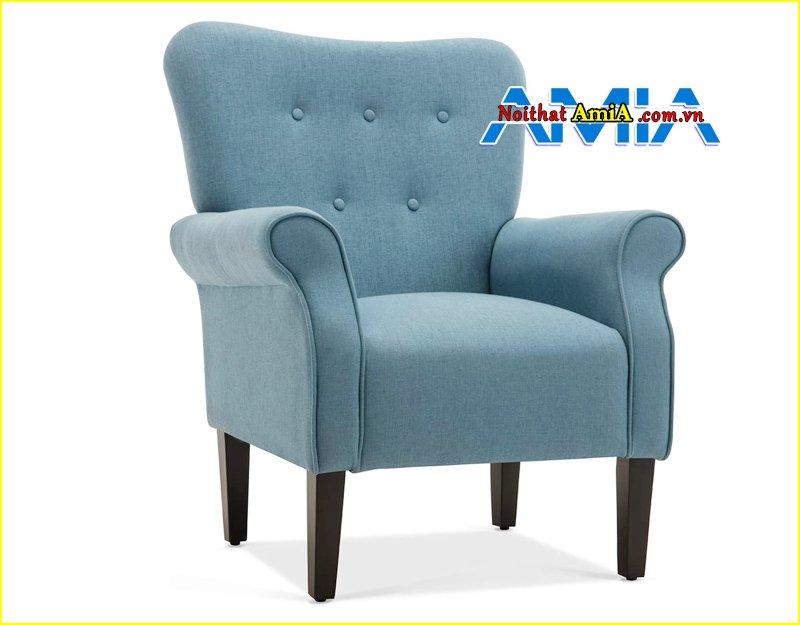 hình ảnh ghế sofa nỉ đơn mini đẹp
