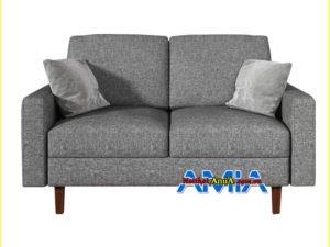Hình ảnh ghế sofa nỉ mini cho phòng ngủ nhỏ đẹp
