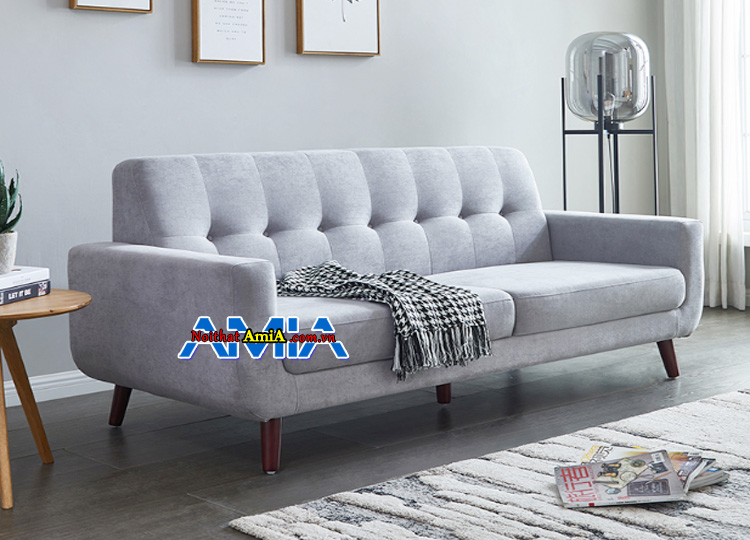 Mẫu ghế sofa nỉ cho phòng khách nhỏ gọn giá rẻ