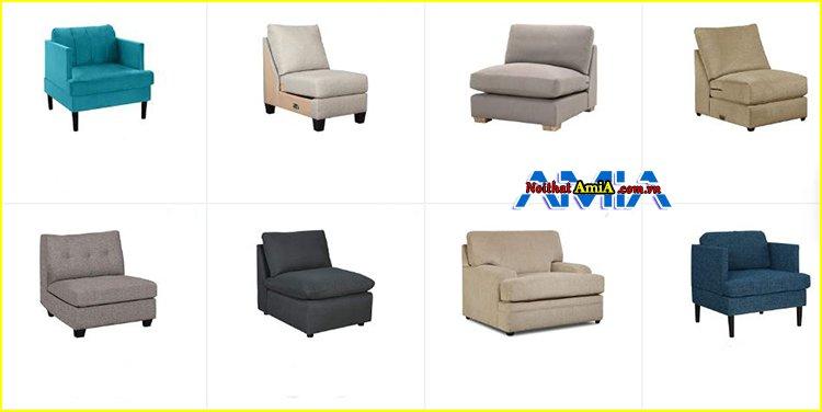 mẫu sofa đơn nhỏ giá rẻ