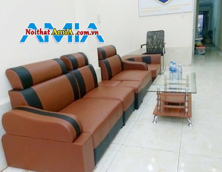 sofa giả da giá rẻ 2 triệu