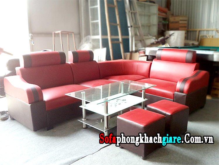 hình ảnh ghế sofa góc 2 triệu văn phòng đẹp