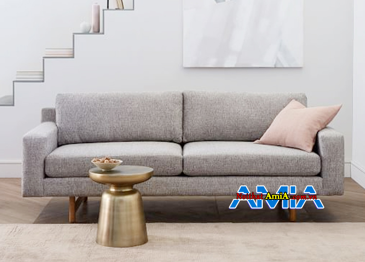 hình ảnh sofa nỉ nhỏ mini đẹp