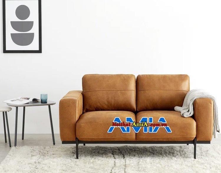 Mẫu ghế sofa phòng khách nhỏ giá rẻ được ưa chuộng